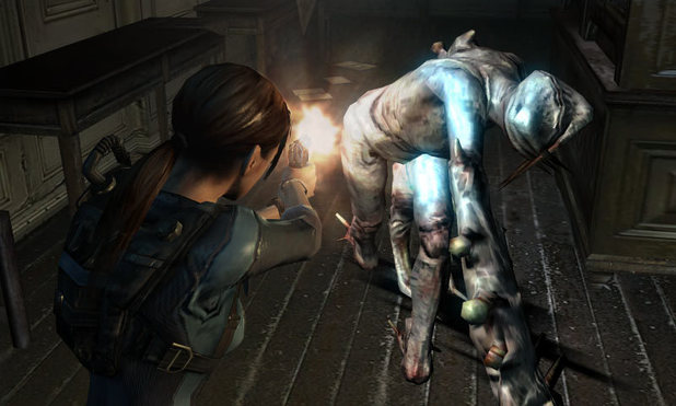 &#39;Resident Evil Revelations&#39; screenshot