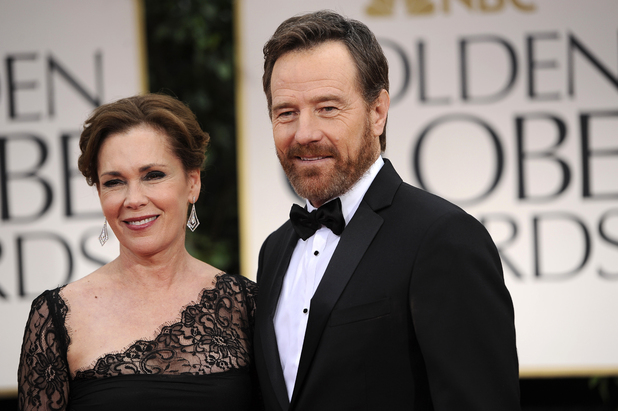 Bryan Cranston with Robin Dearden