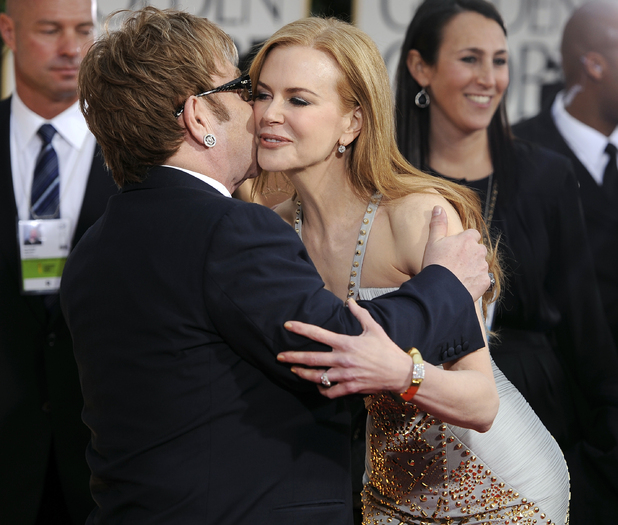 Elton John and Nicole Kidman