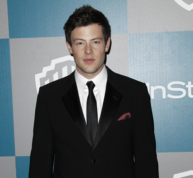 Cory Monteith, Warner Brothers InStyle after party, Golden Globes