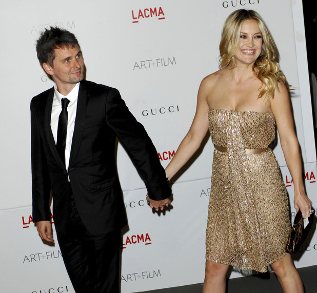 Kate Hudson and Matt Bellamy LACMA's Art And Film Gala Honoring Clint Eastwood And John Baldessari at LACMA Los Angeles