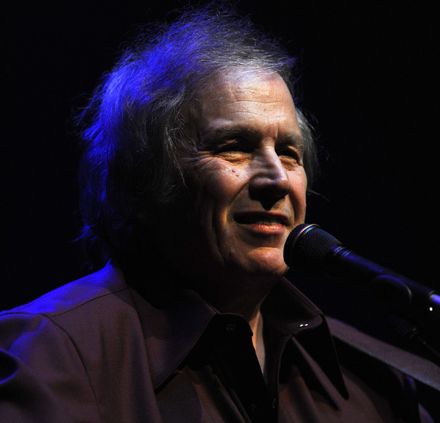 Don Mclean performing
