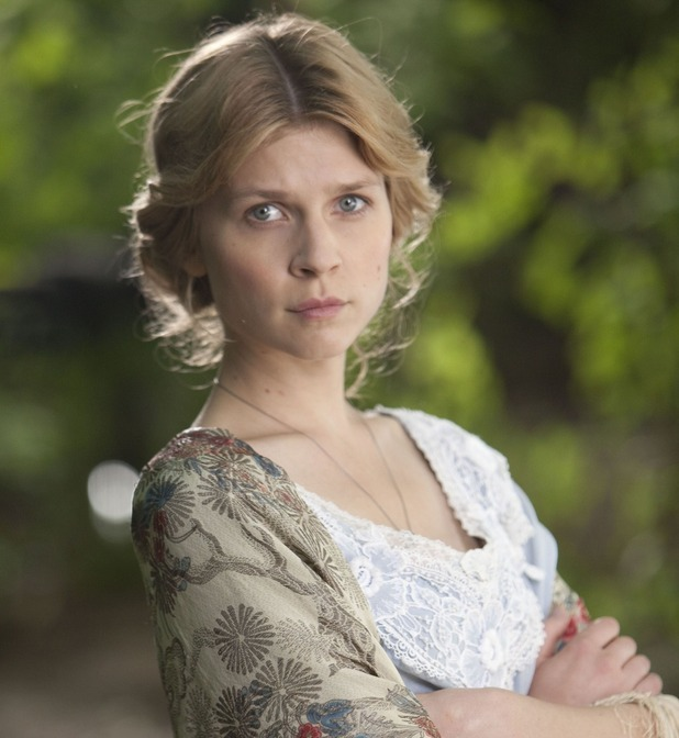 Clemence Poesy as Isabelle Azaire in 'Birdsong'