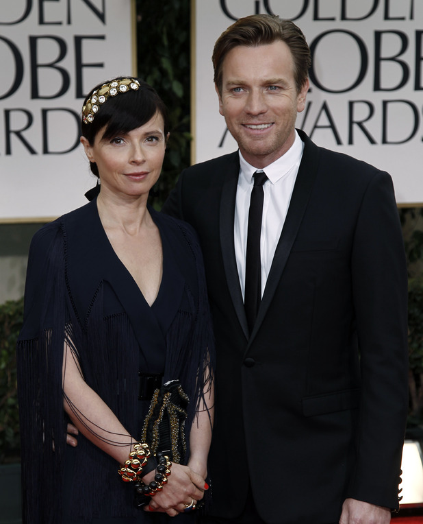 Ewan McGregor with his wife Eve Mavrakis