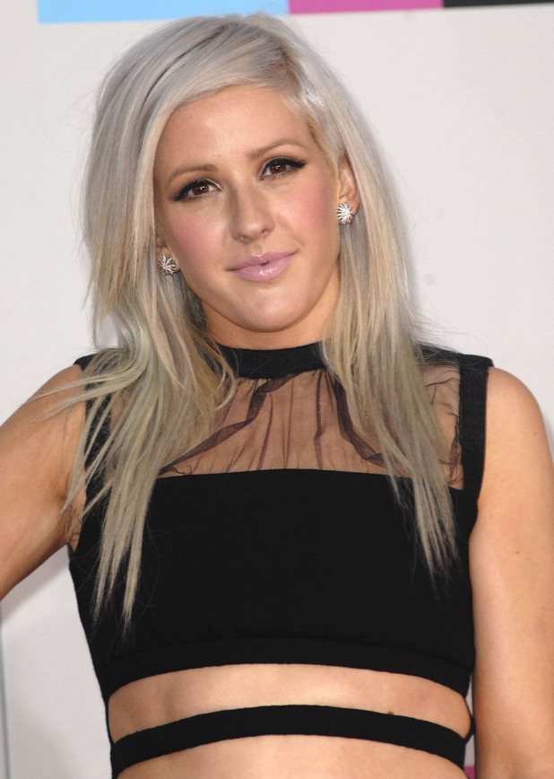 Ellie Goulding 2011 American Music Awards held at the Nokia Theatre L.A. Live - Arrivals. Los Angeles, California