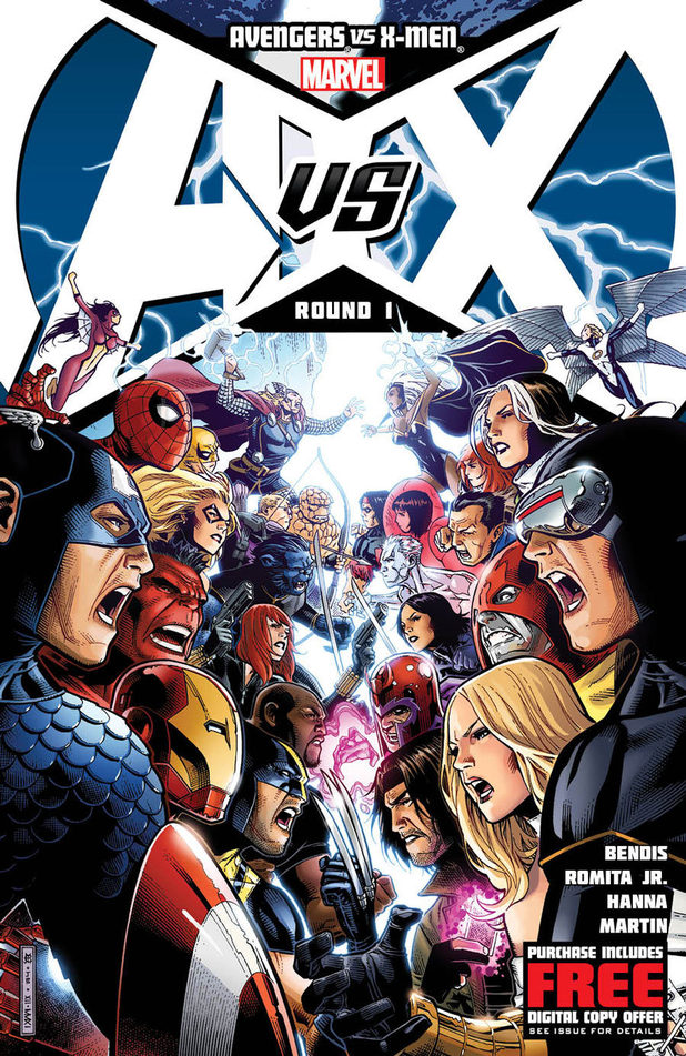 Avengers vs. X-Men #1 teaser