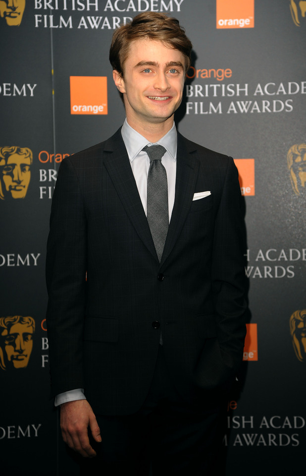 The BAFTA Film Awards Nominations, London: Daniel Radcliffe