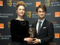 The Harry Potter star joins Holliday Grainger to announce to 2012 BAFTA nominees.
