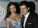 "Orlando Bloom says that he is ""proud"" of his wife's swift return to the catwalk."