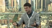 Daniel Radcliffe says he'll miss getting to do the action set pieces from the Potter films, admitting that he's unlikely to ever be cast as an action hero.