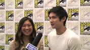 Will Mike do more singing and will Tina stay with him? Harry Shum Jr and Jenna Ushkowitz talk season 3 of Glee at Comic-Con.