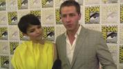 Ginnifer Goodwin and Joshua Dallas, Once Upon A Time's Snow White and Prince Charming talk to us about fairytales at Comic-Con.