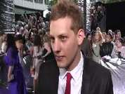 James Sutton being interviewed on the red carpet at the 2007 British Soap Awards in London.