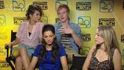 "Lemonade Mouth cast on touring, sequels and being ""edgier"" than other Disney movies"