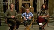 Harry Potter's Tom Felton, Warwick Davis and Natalia Tena talk about the DVD release of 'Deathly Hallows Part 2""
