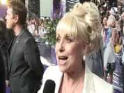 EastEnders' Barbara Windsor being interviewed on the red carpet at this year's soap awards.