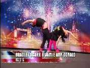 Jamie and Bradley show of their dancing skills which don't go down well with the Judges or audience!  Britain's Got Talent, ITV1 on Saturday at 7.45pm.