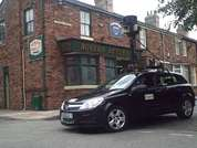 Google Street View visits Corrie