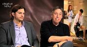 Ashton Kutcher and Ivan Reitman 'No Strings Attached'