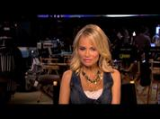 Matthew Morrison and guest star Kristen Chenoweth talk about performing together in 'Glee'.