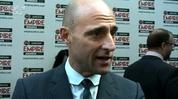 Mark Strong talks about the success of Kick-Ass and tells us about his character in the upcoming superhero movies 'Green Lantern'.