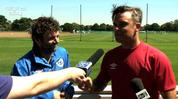 Robbie Williams & Michael Sheen ('Soccer Aid')