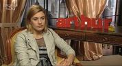 Mumblecore actress Greta Gerwig talks about her role in the new Russell Brand vehicle 'Arthur'.