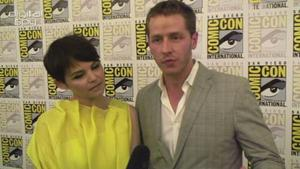 Once Upon A Time's Snow White and Prince Charming talk fairytales