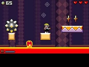 'Mutant Mudds' screenshot