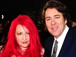 Jonathan Ross and Jane Goldman arriving at the world premiere of The Woman in Black, at The Royal Festival Hall