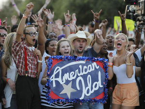 American Idol Season 11 - Texas Auditions - Contestants line up for a chance to become the next American Idol