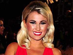 Billie Faiers arriving for the 2012 NTA Awards