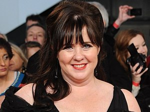 Coleen Nolan arriving for the 2012 NTA Awards