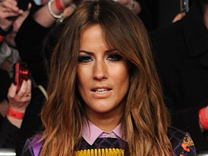 Caroline Flack arriving for the 2012 NTA Awards