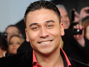 Ricky Norwood arriving for the 2012 NTA Awards