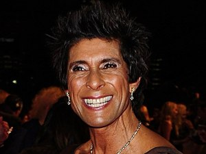 Fatima Whitbread arriving for the 2012 NTA Awards
