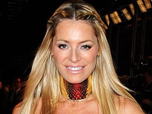 Tess Daly arriving for the 2012 NTA Awards