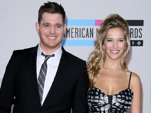 Michael Buble and model Luisana Lopilato 2010 American Music Awards - Arrivals held at the Nokia Theatre L.A. Live Los Angeles