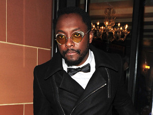 will.i.am aka William Adams of The Black Eyed Peas leaving C London restaurant London