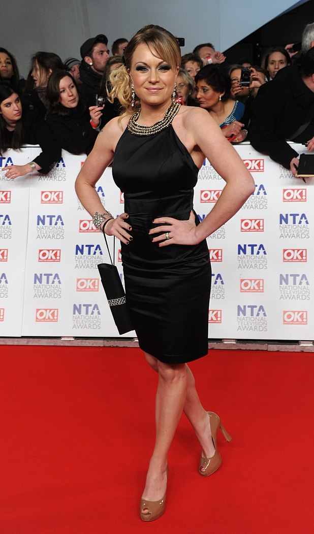 Rita Simons arriving for the 2012 NTA Awards