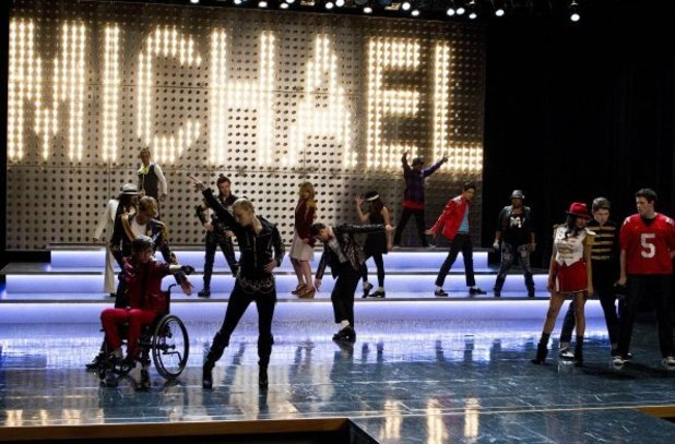 Glee's tribute to Michael Jackson