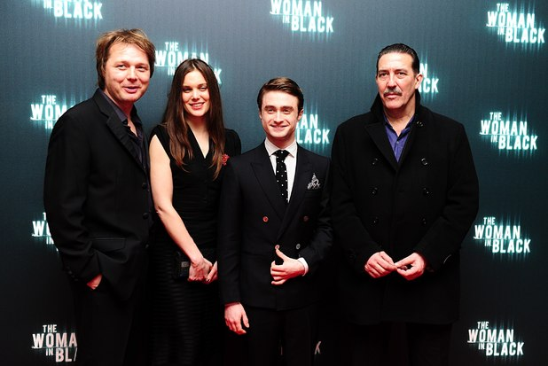 Shaun Dooley, Liz White, Daniel Radcliffe and Ciaran Hinds