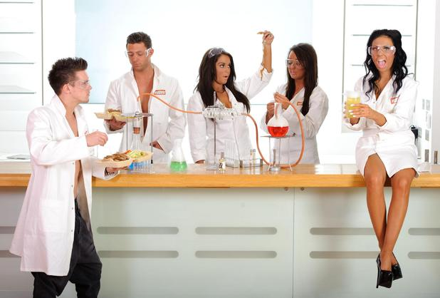 Geordie Shore Cast launch worlds first kebab scented perfume