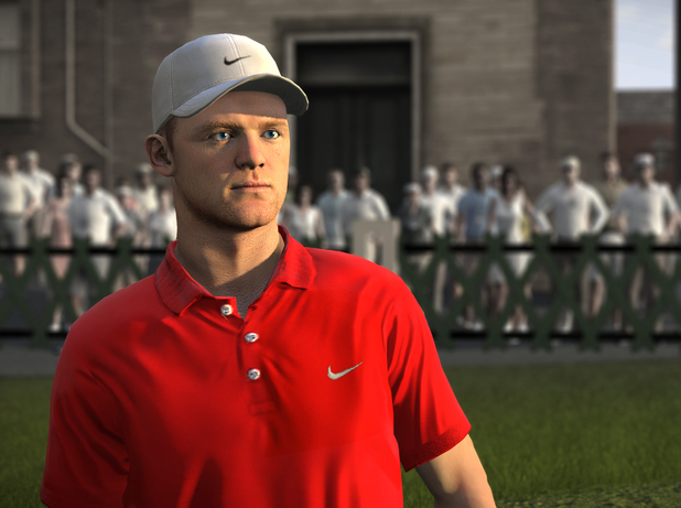 Wayne Rooney in Tiger Woods PGA Tour 13