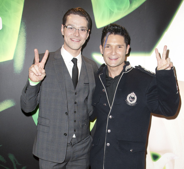 Matt Willis and Corey Feldman