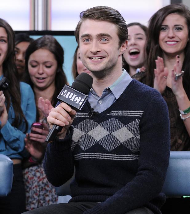 Daniel Radcliffe appears on Much Music's New.Music.Live to promote his upcoming movie 'The Woman in Black'. Toronto, Canada - 26.01.12Mandatory Credit:Dominic Chan/ WENN.com