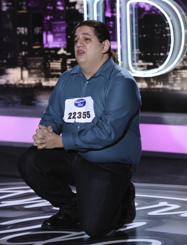 American Idol Season 11 - Texas Auditions - Alejandro Cazares
