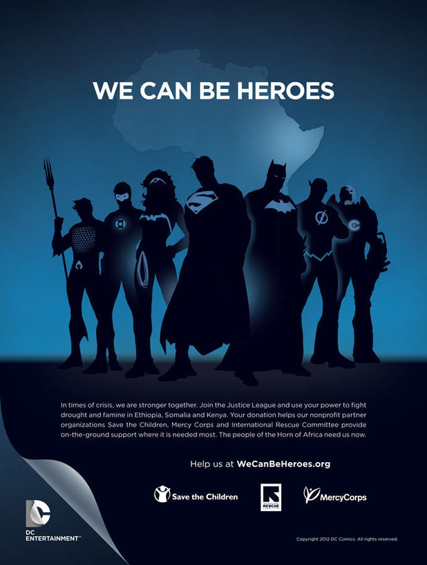 DC charity initiative 'We Can Be Heroes'
