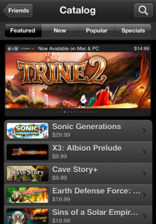 Steam Mobile App