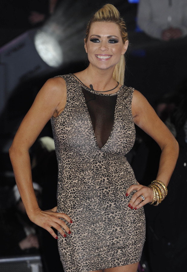 Nicola McLean is evicted from the Celebrity Big Brother House